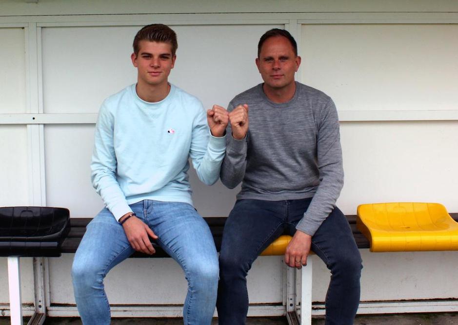 Stefaan Tanghe vs zoon Jules in Wevelgem - WS Lauwe