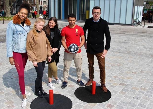 Eerste Belgisch Kampioenschap Stick Soccer in Brugge