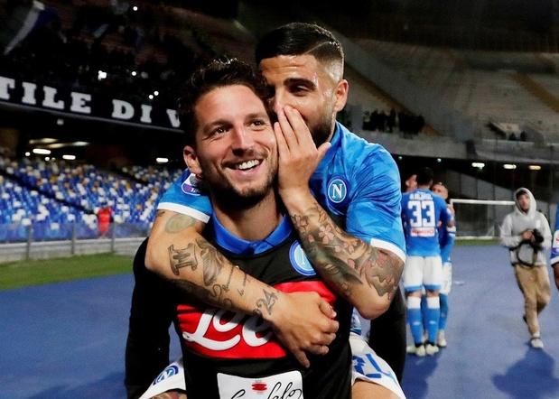 Mertens buteur et passeur contre l'Inter, l'Atalanta avec Castagne partage à la Juventus (vidéos)