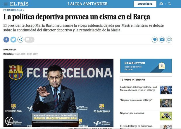Barça's boeltje achter de schermen