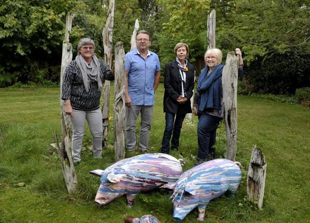 Familie Cottenie uit Ingelmunster neemt weer deel aan Buren bij Kunstenaars