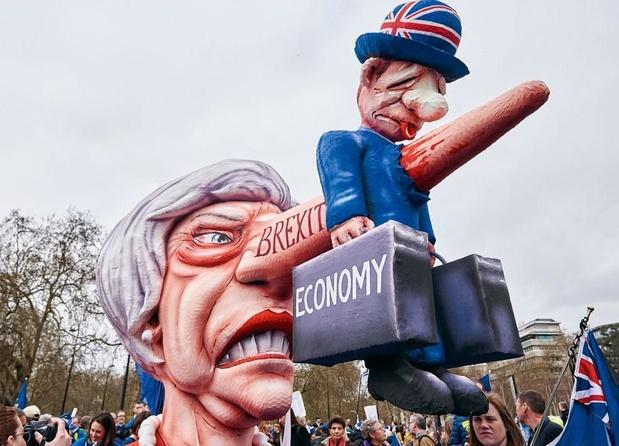 Mars tegen de brexit