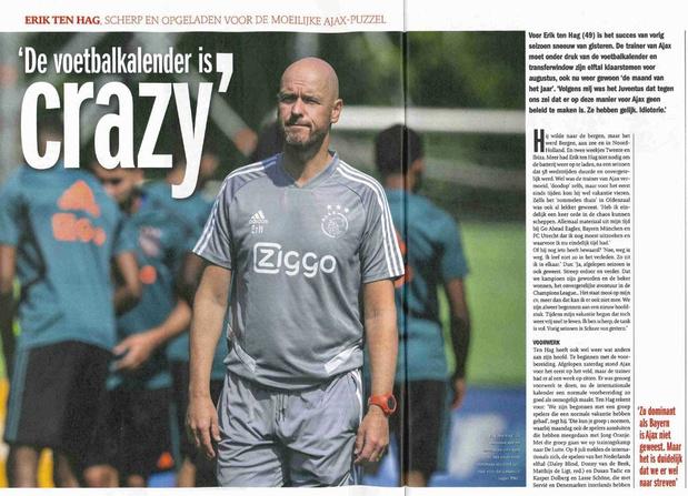 De omgekeerde CL-wereld van Ajax: vorig jaar halve finale, nu terug voorronde