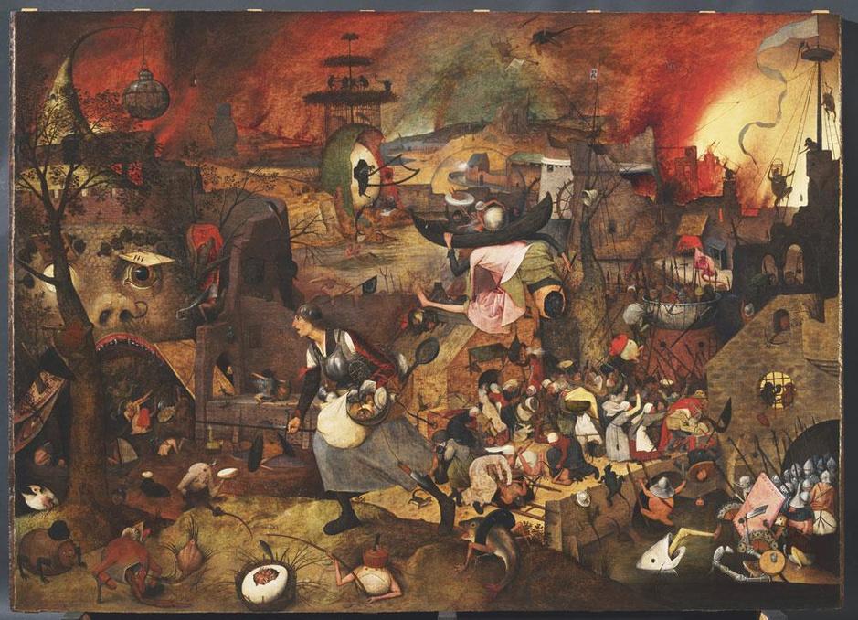Jeroen Olyslaegers over het visionaire meesterwerk van Bruegel: wie was de Dulle Griet?