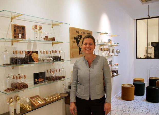 Kortrijkse chocolatier verhuist naar nieuwe belevingswinkel in dezelfde straat