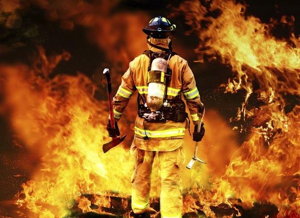 Twee op drie brandweerlieden zijn te dik