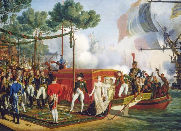 De Eerste Consul in de grote Vlaamse steden