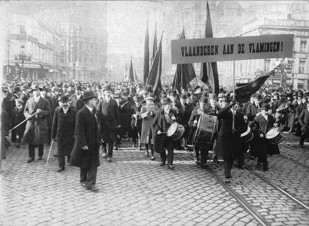 Le 20 janvier 1918: la Flandre se croit indépendante