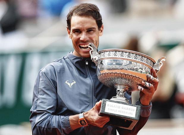 """Nadal: """"Si un autre joueur gagne plus de 12 Roland-Garros, je serai heureux"""""""