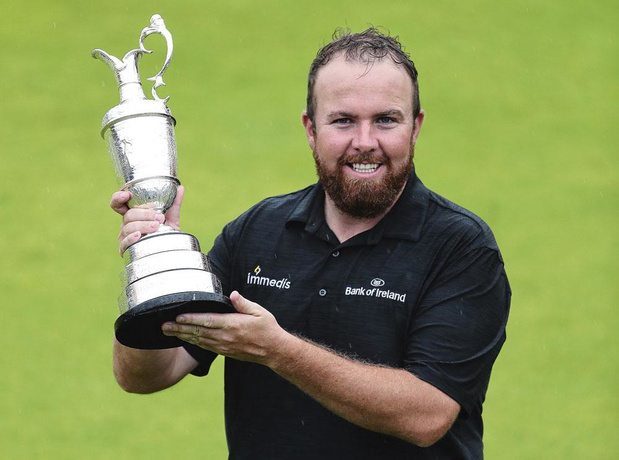 Shane Lowry, so British !