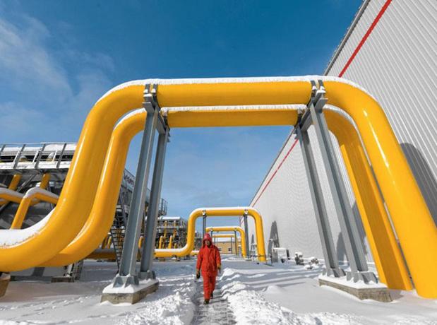 Du gaz entre la Russie et la Chine