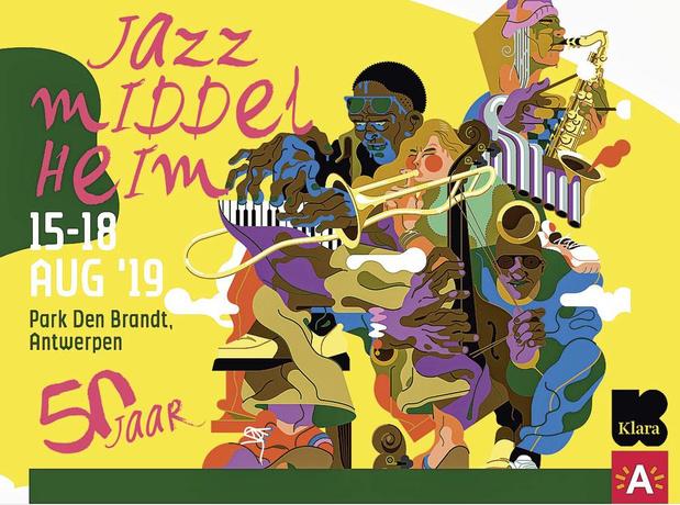 4x2 tickets pour chaque jour du Jazz Middelheim