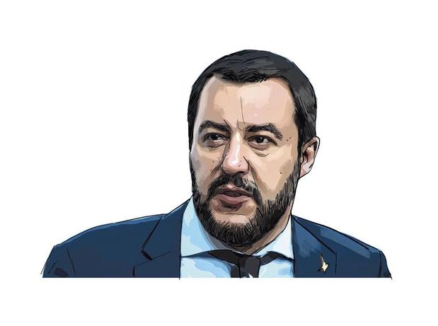 De politieke posterboy van Italië