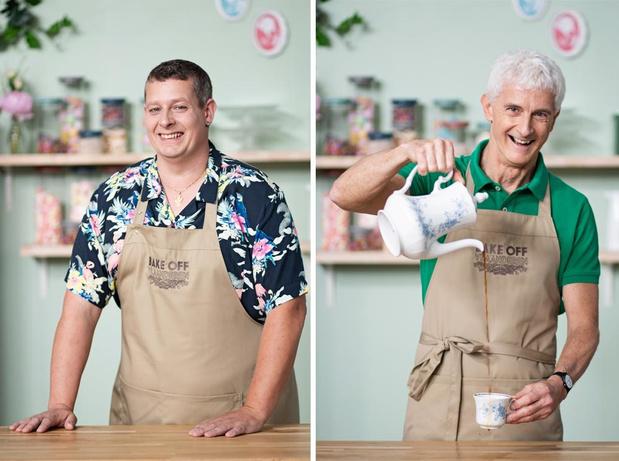 West-Vlamingen Jan (61) en Peter (40) wagen hun kans in Bake Off