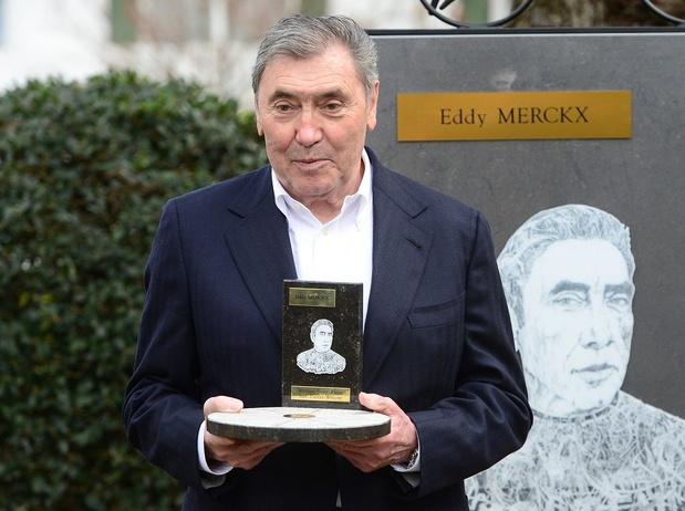 """A 100 jours du """"Grand Départ"""", le Tour fait la fête à Eddy Merckx"""