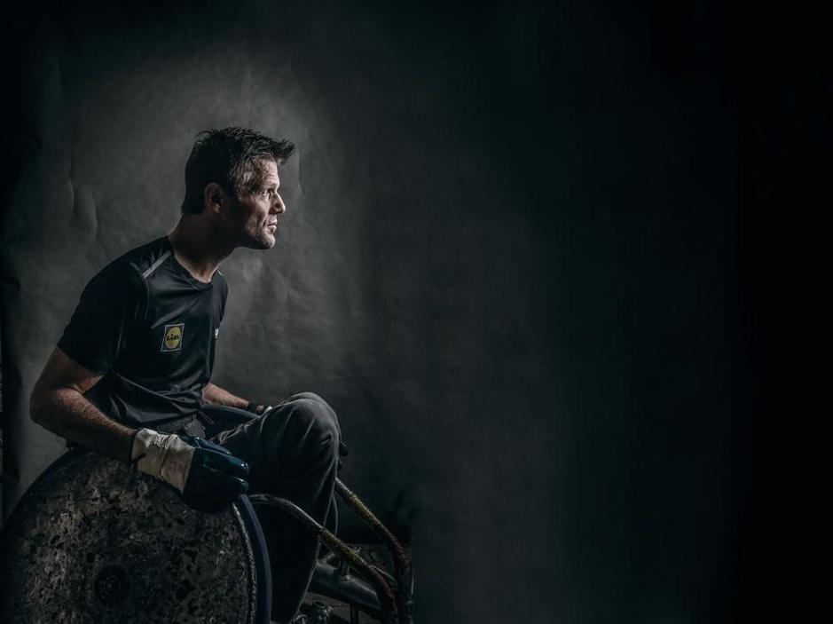 Peter Genyn, wereldtopper in een rolstoel: 'Ik heb me nooit neergelegd bij zaken die ik niet kon'
