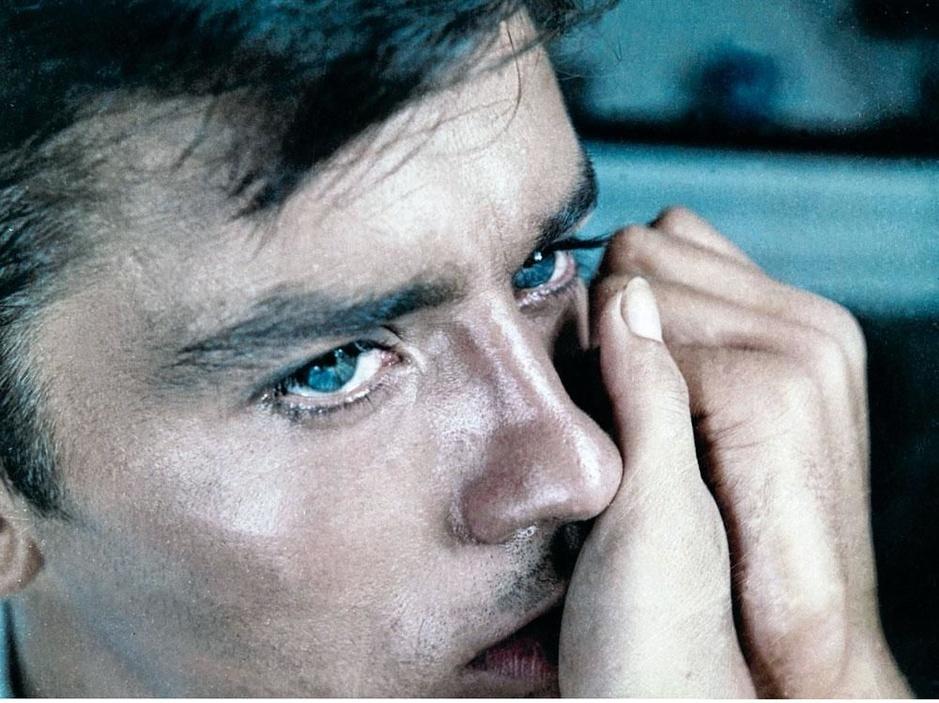 Een ode aan Alain Delon, Frans sekssymbool met schaduwkanten