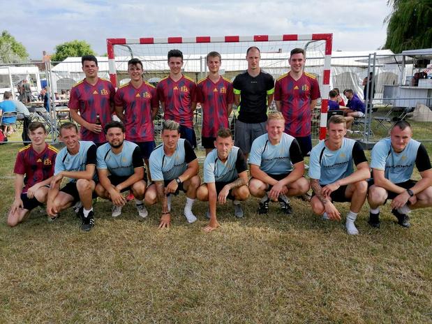 El Blanquitos winnen Transvaal voetbaltornooi in Langemark