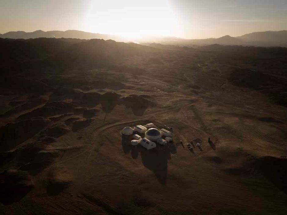 Vivre comme sur Mars? Une base ouvre dans le désert chinois (en images)
