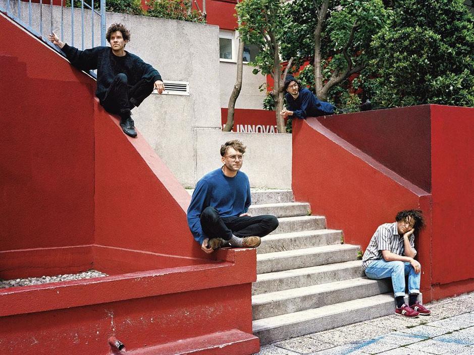Rencontre avec Corridor, le premier groupe francophone signé chez Sub Pop