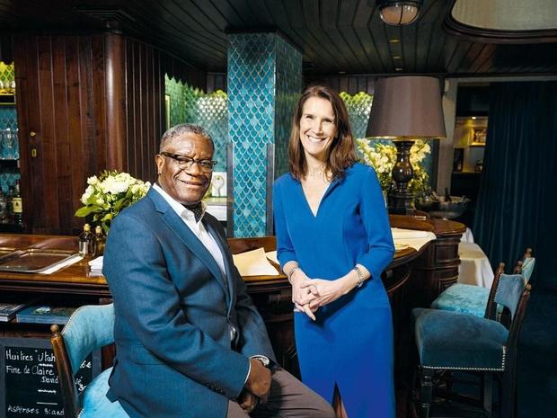 Nous avons réuni le Prix Nobel de la Paix Denis Mukwege et Sophie Wilmès