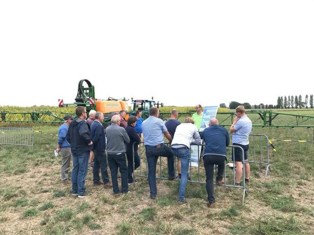 Inagro toont landbouwers de nieuwste snufjes en technieken in Wevelgem