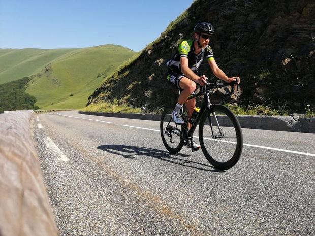 A ride for Alain (3): Met Joren Touquet in gedachten