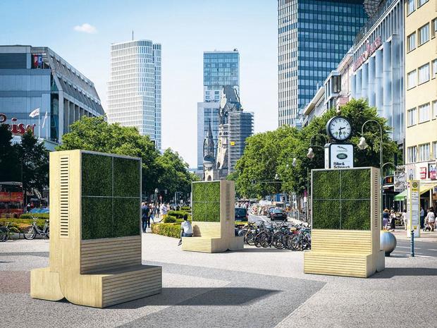 Des arbres artificiels pour dépolluer nos villes