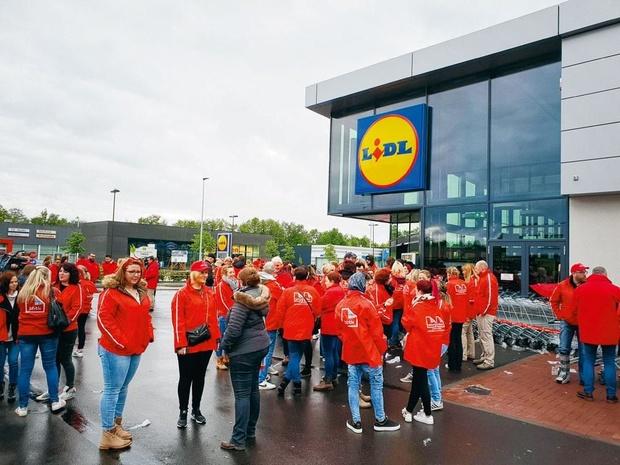 Plus de 100 magasins Lidl en grève à travers tout le pays, le mouvement pourrait se durcir