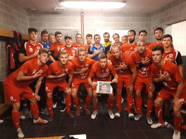FC Gullegem eert overleden jeugdspeler Emiel (13) voor wedstrijd