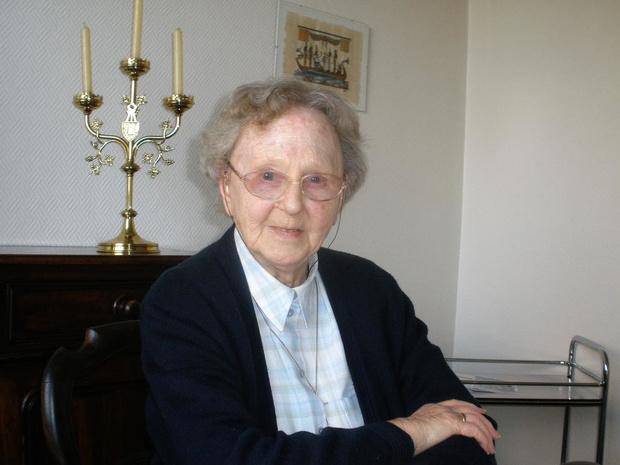 Zuster Marie-Thérèse Herman op 95-jarige leeftijd overleden