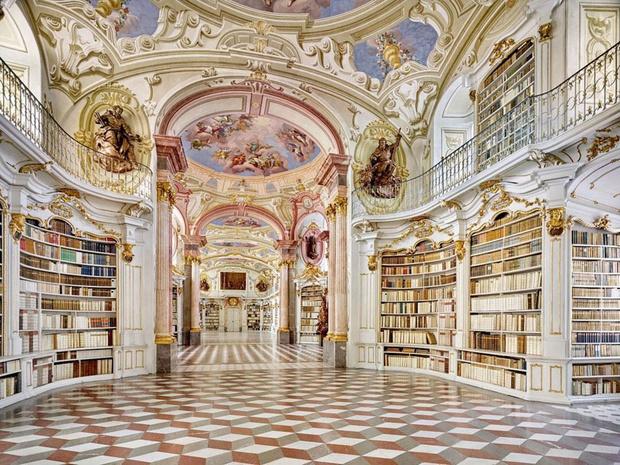 En images: les plus belles bibliothèques d'Europe