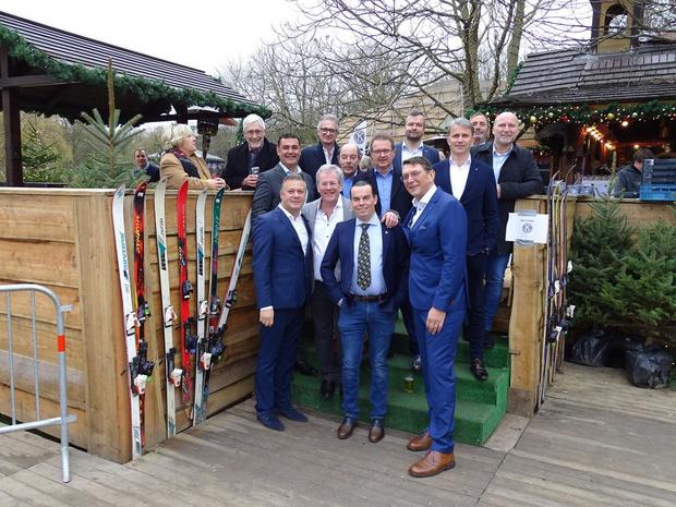 Nieuwjaarsdrink van 17 Oostendse Serviceclubs