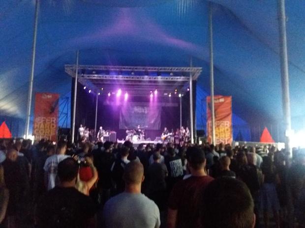 850 bezoekers voor eerste festivalavond van Ieperfest