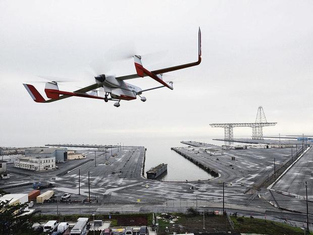 Bientôt des drones cargos pour supplanter les camions ?