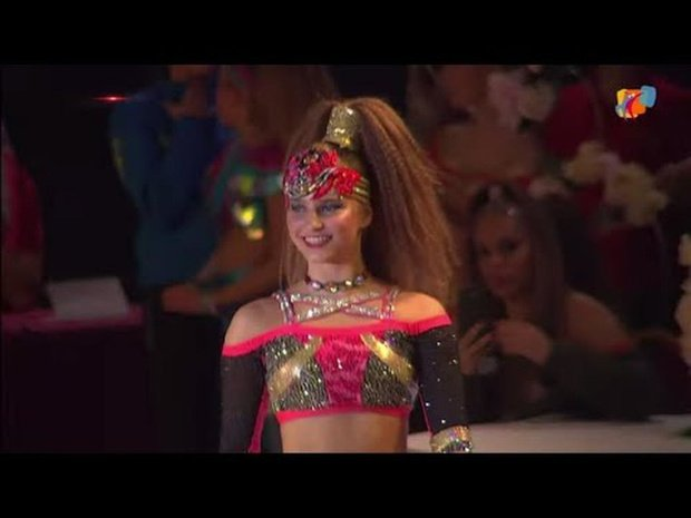 2019 WDSF World Disco Dance Belgrade - Lune van Belleghem   Final