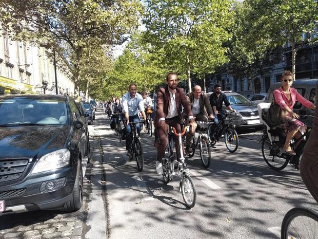 Brussel wil drie keer meer fietsers