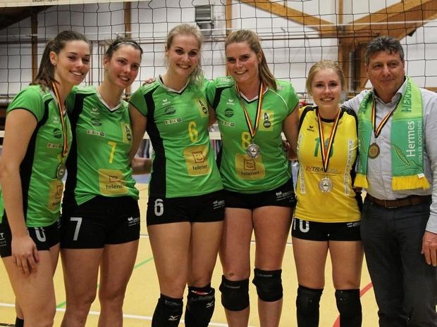 Hermes Oostende beëindigt het seizoen als vice-landskampioen