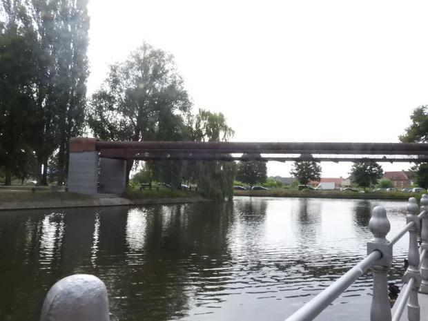 Conzettbrug in Brugge opnieuw defect