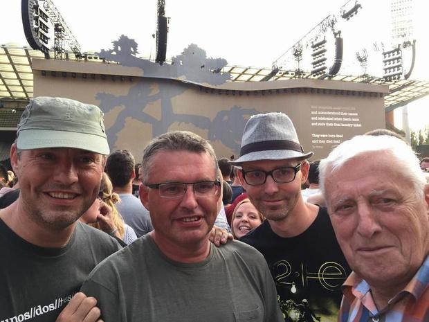 U2-benefiet brengt eerbetoon aan Roderik Struyve