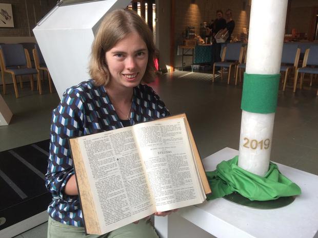 Nieuwe protestantse dominee Eleonora Hof voelt zich al thuis in Ieper