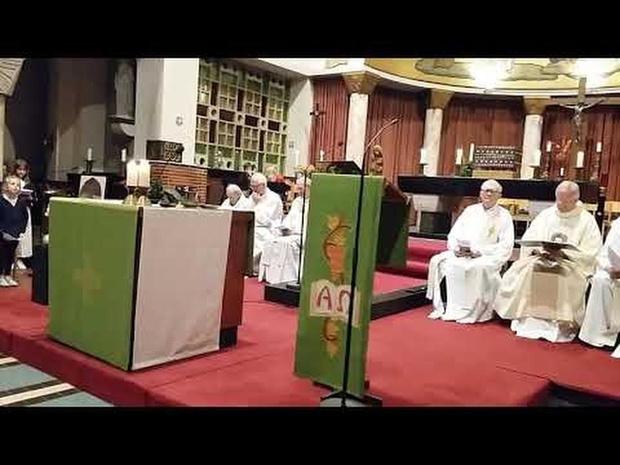 Don Bosco's leven - slotlied op afscheidsviering Salesianen Kortrijk 11 10 19