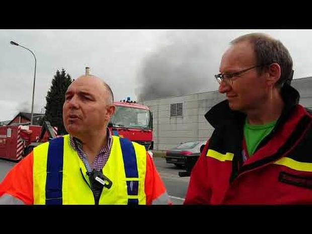 Persmoment brand Gullegem Flocart 9 juli 19