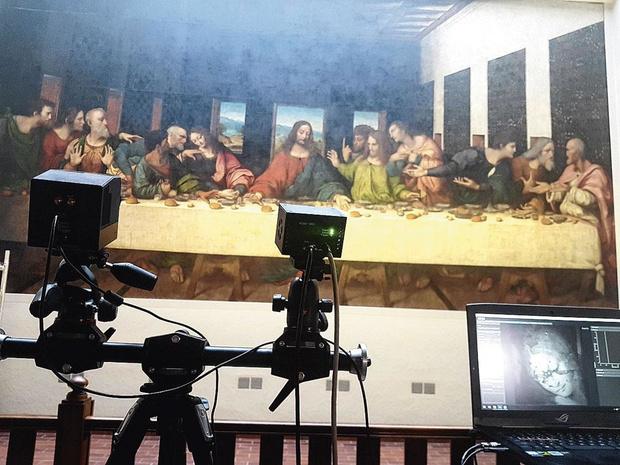 Une oeuvre de Léonard de Vinci à Tongerlo