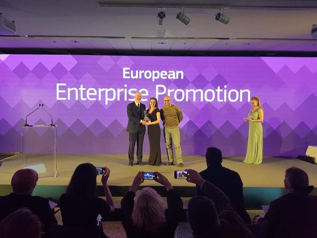 Jongerenincubator Haven wint de European Enterprise Promotion Award