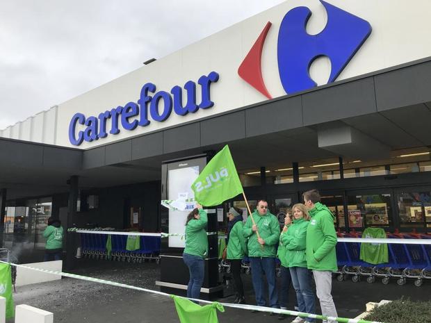UPDATE: staking Carrefour Hypermarkt in Sint-Eloois-Vijve voorbij