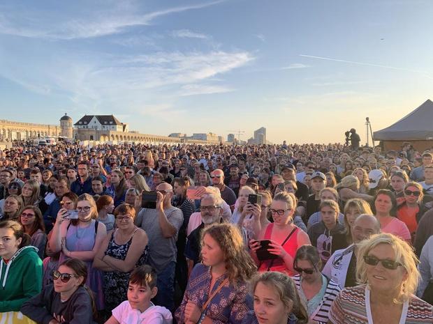 Foute Sunset Concert aan het Q-Beach House schot in de roos