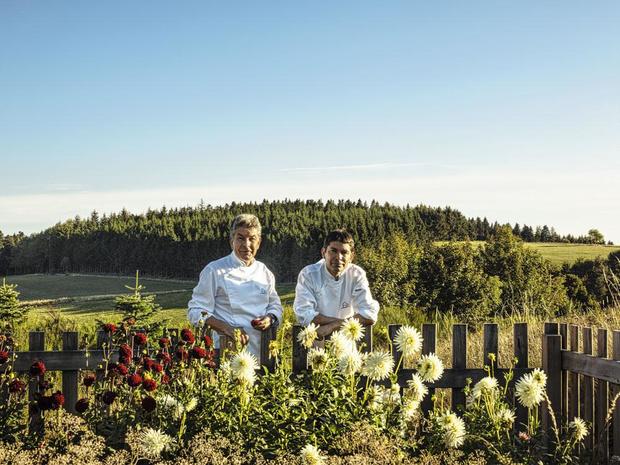 Avec Régis et Jacques Macron, à l'école des champignons