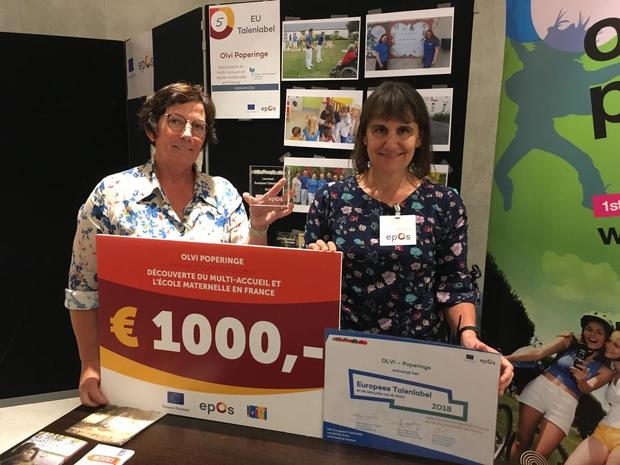 OLVi wint Europees Talenlabel