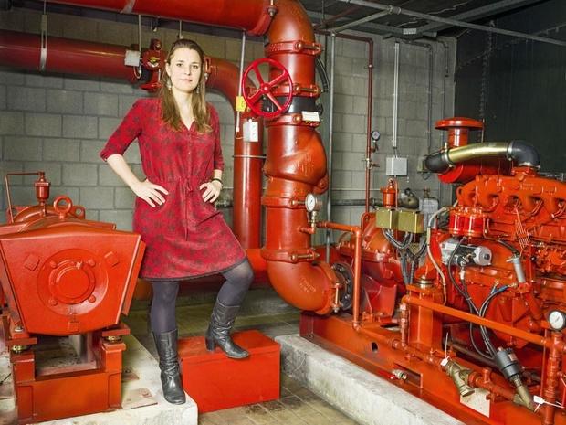 Het idee van An Beazar: 'Ik adviseer bedrijven om minder energie te gebruiken'
